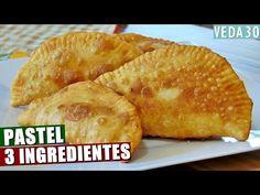 MASSA PASTEL CASEIRA COM APENAS 3 INGREDIENTES | FÁCIL E RÁPIDA #VEDA30 - YouTube