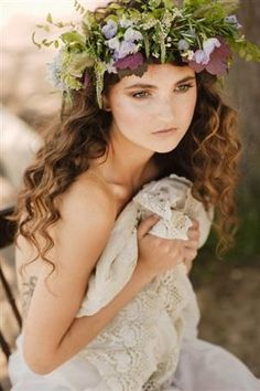 bloemen in het haar