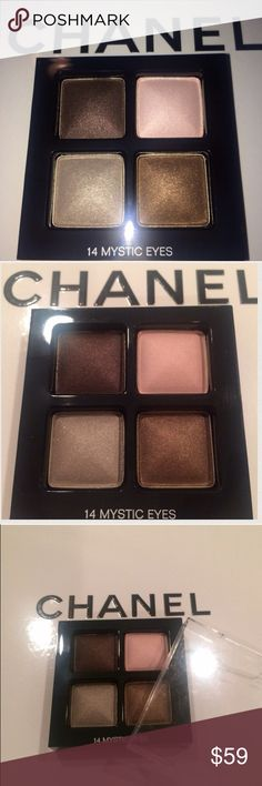 CHANEL EYESHADOW Brand new and authentic Chanel eyeshadow. Discontinued color and sold out every where. Color #14 Mystic Eyes. CHANEL Makeup Eyeshadow