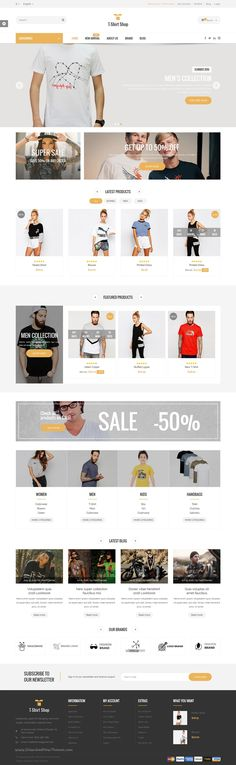 Tshirt is a beautifully design  #Prestashop #theme for multipurpose responsive #eCommerce website with 4 amazing homepage layouts download now➯ https://themeforest.net/item/tshirt-shop-responsive-prestashop-theme/17067965?ref=Datasata