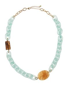 Lucite & Jasper Station Necklace, Mint by Panacea at Neiman Marcus Last Call.