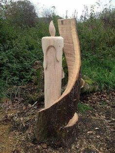 Gallery - Carvings - Chainsaw Carving & Sculpture Source by ladislavrattus wood working,wood work,wo Tree Carving, Wood Carving Art, Chainsaw Wood Carving, Kids Wood, Wood Creations, Wooden Art, Wood Sculpture, Woodworking Tips, Woodworking Furniture