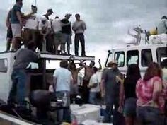 This is video of an awsome boat race party where its not who wins the race but who has the most fun that counts.