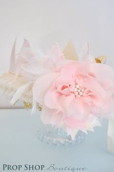 Girl's Royal Princess Birthday Crown, Special Occasion, Dress up. $45.00, via Etsy.