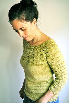 Drift sweter na drutach