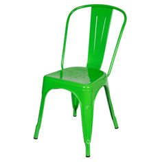 Design Tree Home Steel Metal Tolix-style Green Dining Chair (China) - Overstock™ Shopping - Top Rated Dining Chairs