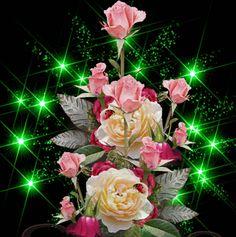 Good Morning Beautiful Images, Beautiful Love Pictures, Beautiful Gif, Beautiful Birds, Beautiful Flowers Wallpapers, Beautiful Rose Flowers, Pretty Roses, Roses Gif, Flowers Gif