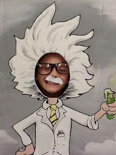 Fun Photo Idea For A Kiddo Science Party