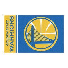 Golden State Warriors Team Logo Accent Rug