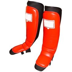 MMA Protective Gear:  MMA Shin Guards With Instep