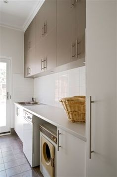 very clean laundry room from @Jaffa #laundries