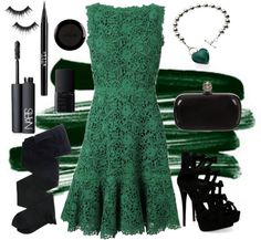 """Ever Green"" by buckley on Polyvore"