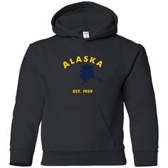 Find yourself! Alaska - State  Y... Display Your Freedom http://americanclothingink.com/products/alaska-state-youth-t-shirt-hoodie?utm_campaign=social_autopilot&utm_source=pin&utm_medium=pin