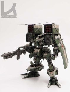 BOWER Soviet Battlemech: BOWER is an scale resin model kit. It's composed of 45 perfectly casted grey parts, a decal sheet and building instructions. It also has many weapon options: rifles and 1 bazooka, 1 shield and 2 missile launchers.