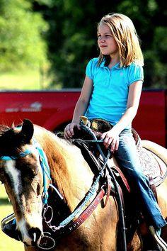Leni Gamble - Horseback Riding