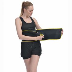 """""""Amazing Trimmer Belt:You would literally feel this waist trainer heating up around your waist area in few seconds!Give your body a workout with this waist trimmer with real sauna effect!Feeling your tummy heating up and seeing yourself soaked with sweat after workout, you could never be so sure that you are making steady progress for better shape and health.GROOFOO Waist Trimmer is contoured to fit around your waist comfortably and is naturally flexible, so it adjusts to your shape & size. Simp Weight Loss Workout Plan, Weight Loss Challenge, Easy Weight Loss, Weight Loss Program, Weight Loss Transformation, Weight Lifting, Reduce Belly Fat, Lose Belly Fat, Lower Belly"""