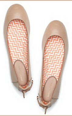 Nude Flats by Tommy Hilfiger