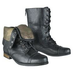 From target combat boots