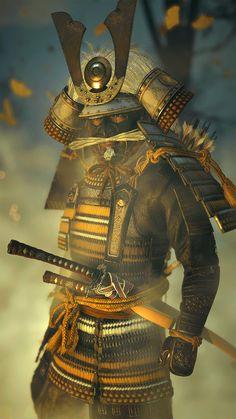 Comic Style Art, Comic Styles, Fantasy Armor, Dark Fantasy Art, Samurai Poses, Samurai Concept, Wallpaper Earth, Samurai Artwork, Japanese Warrior