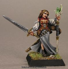Lysette, Elven Mage Painted by Liliana Troy Sculpted by Werner Klocke
