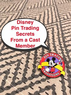 Follow these tips to get the best cast member pin trades