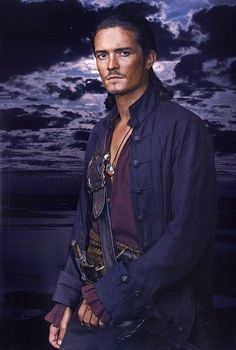 Orlando Bloom as WILL TURNER ~ Pirates of the Caribbean Between him and Johnny Depp, I had a new appreciation for pirates.