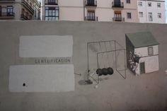 Escif. Ruta street art Valencia. CaminArt. Arte urbano.
