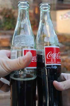 There is NOTHING like coke in glass bottles made with real cane sugar!