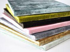 velvet notebooks - Google Search