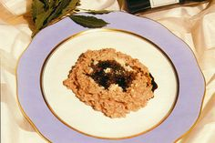 Rich Dark Risotto with Balsamic Vinegar