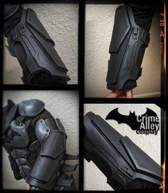 Batman Arkham Origins Inspired Gauntlets by on Etsy.