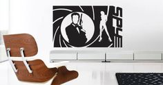 Wall Stickers, Wall Decals, Unique Faces, People Art, Vinyl Designs, Cool Walls, Cool Stuff, Spy, Creative