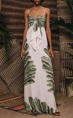 31af40d4395 Tropical Maxi Dress by Johanna Ortiz Resort 2019 Vestido Tropical