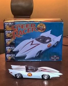Check out Speed Racer's Its a or a scale (can't remember) Polar Lights Kit that is a rare find. Used a variety of different paints, mostly Testors Model Master series. Plastic Model Kits, Plastic Models, Thing 1, Speed Racer, Scale Models, Military Vehicles, Old School, Modeling, Lights