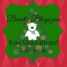 Would you like to win $350 Visa Giftcard? Then enter Beauty Blogazons Holiday giveaway and maybe you are the lucky winner who will receive $350 Visa Giftcard! Giveaway is open WW! Beauty Blogazons Holiday Giveaway LeeloBeauty & lifestyle blogger from Estonia. Currently living in UK. Hetkel UK´s elav ilu-ja elustiiliblogija Eestist.More Posts - Website Follow Me: [...]