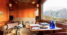 """Join the best luxury train travel South Africa with a twist when you embark the Blue Train, Pretoria to Hoedspruit and a """"Big 5"""" Safari experience Pretoria, Connemara, Slow Travel, Ways To Travel, Travel Tips, Travel Photos, Lac Titicaca, Trains, Blue Nails"""