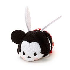 Disney Mickey Mouse Valentine's Day Tsum Tsum Soft Toy | Disney StoreMickey Mouse Valentine's Day Tsum Tsum Soft Toy - Our Mickey Mouse Tsum Tsum mini soft toy is colourful and stackable. This cute concept from Japan offers a quirky version of Mickey Mouse dressed as Cupid for Valentine's Day, with 3D details and a squeezy bean bag tummy.