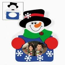 Snowman Photo Frame Magnet Craft Kit Count) - Christmas/Crafts for Kids & Photo Crafts Kids Crafts, Winter Crafts For Kids, Foam Crafts, Art For Kids, Toddler Crafts, Paper Crafts, Christmas Activities For Kids, Christmas Crafts For Kids, Kids Christmas