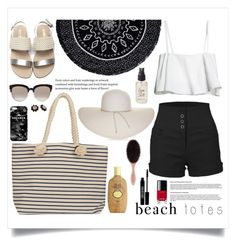 """""""Senza titolo #5169"""" by waikiki24 ❤ liked on Polyvore featuring The Beach People, Joie, LE3NO, Christian Dior, Mr. Gugu & Miss Go, Sun Bum, Kate Spade, Nine West, Olivine and Chanel"""