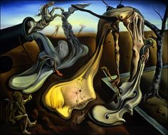 Salvador Dali: Daddy Longlegs of the Evening - Hope! 1940 oil on canvas (The Salvador Dali Museum, St. Salvador Dali Museum, Salvador Dali Paintings, Figueras, Catalogue Raisonne, Daddy Long, Les Religions, Painting Wallpaper, Painting Art, Magritte