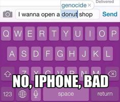 Funny pictures about Apple Is Sending Messages Through Autocorrect. Oh, and cool pics about Apple Is Sending Messages Through Autocorrect. Also, Apple Is Sending Messages Through Autocorrect photos. Super Funny Pictures, Funny Photos, Hilarious Pictures, Funny Images, Memes Humor, Humor Quotes, Funny Stuff, Funny Things, Funny Jokes