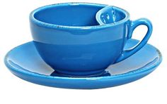Teacup with tea bag compartment