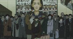 Besides all those elements, one thing is sure: after watching Tokyo Godfathers and thinking about it I knew that the director Satoshi Kon really got guts . Tokyo Godfathers, Satoshi Kon, Entertaining Movies, Great Movies, Studio Ghibli, I Movie, Anime, Tumblr, Japan