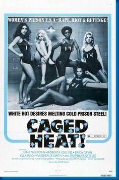Caged Heat Womens Prison Movie Poster 24inx36in