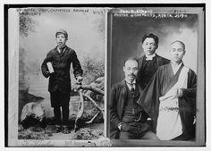 Two Portraits by Kusakabe Kimbei