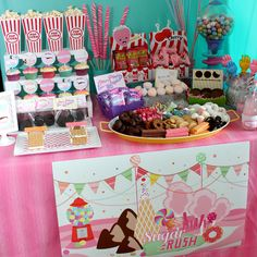 Sugar Rush Inspired Party Collection from Wreck it Ralph Movie – Wants and Wishes