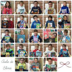 Libros de la biblioteca de aula del Aula de Elena