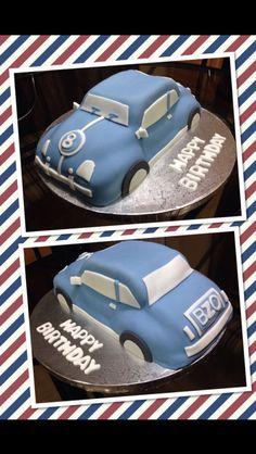 Vwrooom cake!