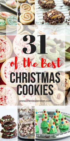 christmas cookies tree Weihnachtspltzchen These are the best Christmas Cookies! Christmas sugar cookies, molasses cookies, Christmas tree cookies, no bake cookies and more -- everything you need to stock your freezer and fill your trays! Best Christmas Cookie Recipe, Easy Christmas Treats, Christmas Tree Cookies, Holiday Cookie Recipes, Xmas Cookies, Christmas Sweets, No Bake Cookies, Holiday Baking, Holiday Treats