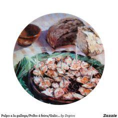 Pulpo a la gallega/Polbo á feira/Galician octopus Tabla Para Cortar